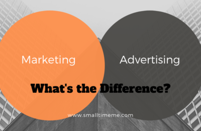 MARKETING VS ADVERTISING: WHAT'S THE DIFFERENCE?